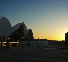 Opera House Sunrise by Sharon Brown