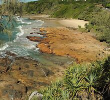 Coolums coastline  by warren dacey