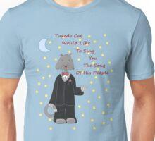 Tuxedo Cat 2 In the Morning Unisex T-Shirt