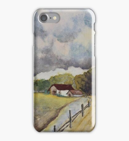 THE MATERIAL OF LIFE- Autumn Countryside iPhone Case/Skin