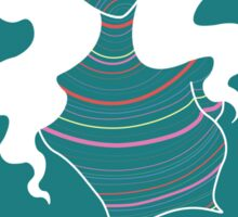 Pattern Girl : Lines Sticker