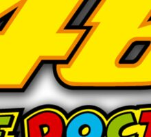 PEOPLE CHAMPIONS VALENTINO ROSSI 46 THE DOCTOR Sticker