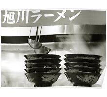 Ramen bowls Poster