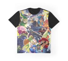 Lucina & Robin Join the Battle! Graphic T-Shirt