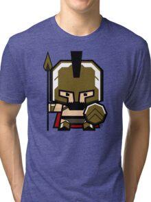 Mekkachibi Leonidas Tri-blend T-Shirt