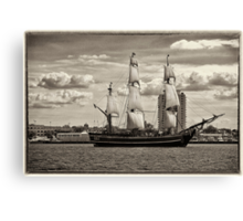 The Bounty Sails Again Canvas Print