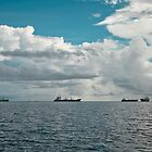 Pohnpei seascape by John Marelli