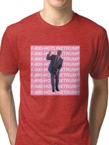 Hotline Trump Tri-blend T-Shirt