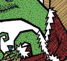 The Lizard King Sticker