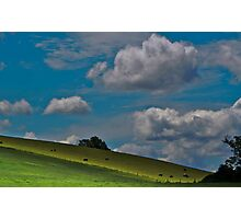 On The Hills.. Photographic Print
