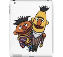 Bert And Ernie iPad Case/Skin