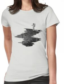 Space Diving Womens Fitted T-Shirt