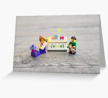 Congratulations on your new baby! Greeting Card