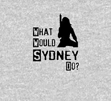 What would Sydney Do? Womens Fitted T-Shirt