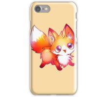 kawaii fox iPhone Case/Skin