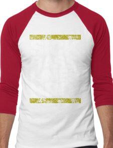 Sick Basslines Bro (gold) Men's Baseball ¾ T-Shirt