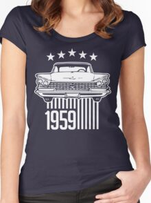 1959 Buick illustration Women's Fitted Scoop T-Shirt