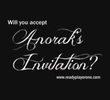 Will you accept Anorak's Invitation? by dopefish