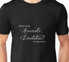 Will you accept Anorak's Invitation? Unisex T-Shirt