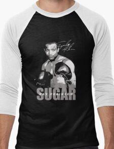 sugar ray robinson Men's Baseball ¾ T-Shirt
