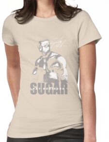 sugar ray robinson Womens Fitted T-Shirt