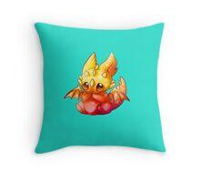 Cute Dragon  Throw Pillow
