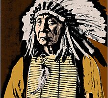 CHIEF RED CLOUD-COLOUR by IMPACTEES