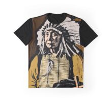 CHIEF RED CLOUD-COLOUR Graphic T-Shirt