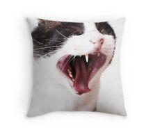 Hahaha! Throw Pillow