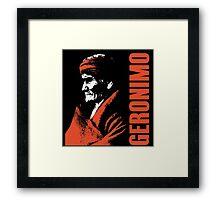 GERONIMO-APACHE 2 Framed Print