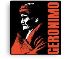 GERONIMO-APACHE 2 Canvas Print