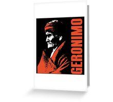 GERONIMO-APACHE 2 Greeting Card
