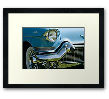Front end of classic car. Framed Print