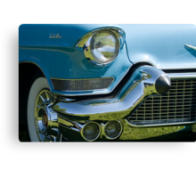 Front end of classic car. Canvas Print