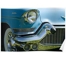 Front end of classic car. Poster