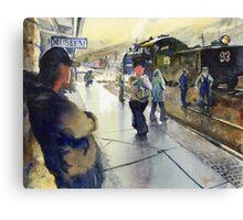 """""""Ghost Train"""" Canvas Print"""