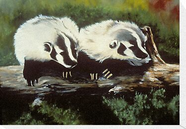 Brother Badger by Chris J Worden Gregg