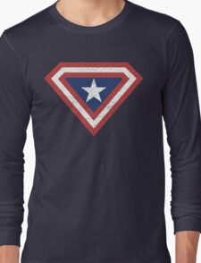 Supercaptain (Vintage Edition) Long Sleeve T-Shirt