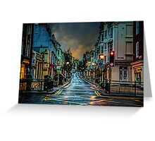 Wet Morning in Kemp Town Greeting Card