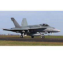 RAAF FA -18 Hornet Photographic Print