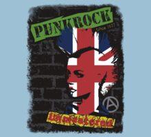 Punkrock - Union jack mohawk Kids Clothes