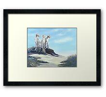 Lookout Mound Framed Print