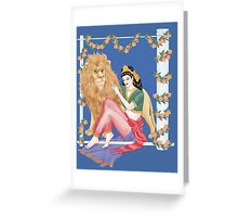 Tarot Strength  Greeting Card