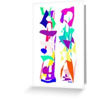 Cell Phone  Greeting Card