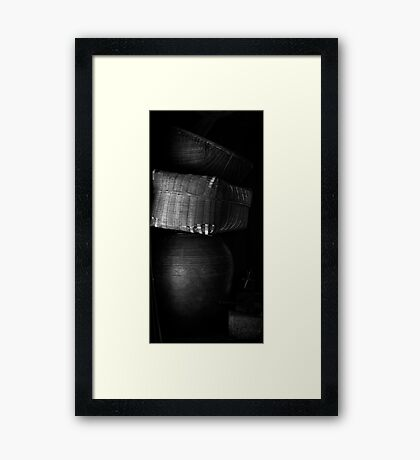 Traditional Things Framed Print