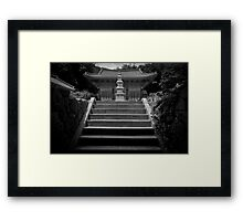 To the Temple Framed Print
