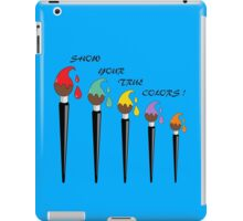 Show Your True Colours iPad Case/Skin