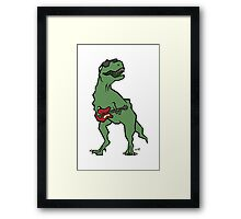 T-Rocks Framed Print