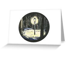 Always Winter Never Christmas Greeting Card