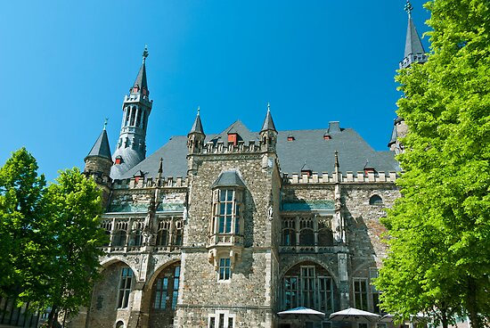 City Hall in Aachen by Vac1